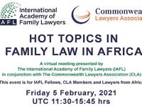 FAMILY LAW WEBINAR