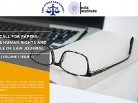 CALL FOR PAPERS - EALS HUMAN RIGHTS AND RULE OF LAW JOURNAL (Thumbnail)